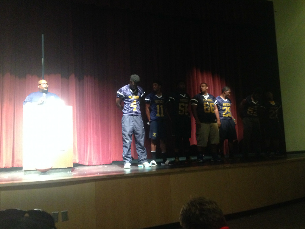 Coach Tanks of Southwest Dekalb said his players have bought into their program and are ready to go for their 2014 season