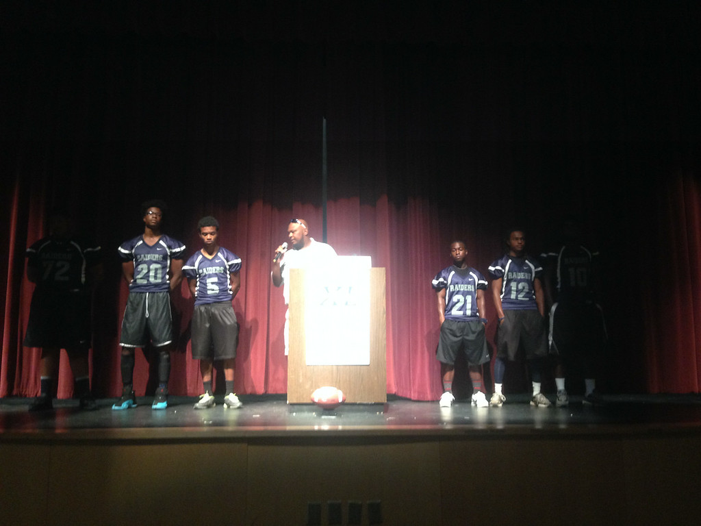 Redan's New Head Coach Roderick Moore, another Dekalb County native, said his team is working hard to prep for the 2014 season