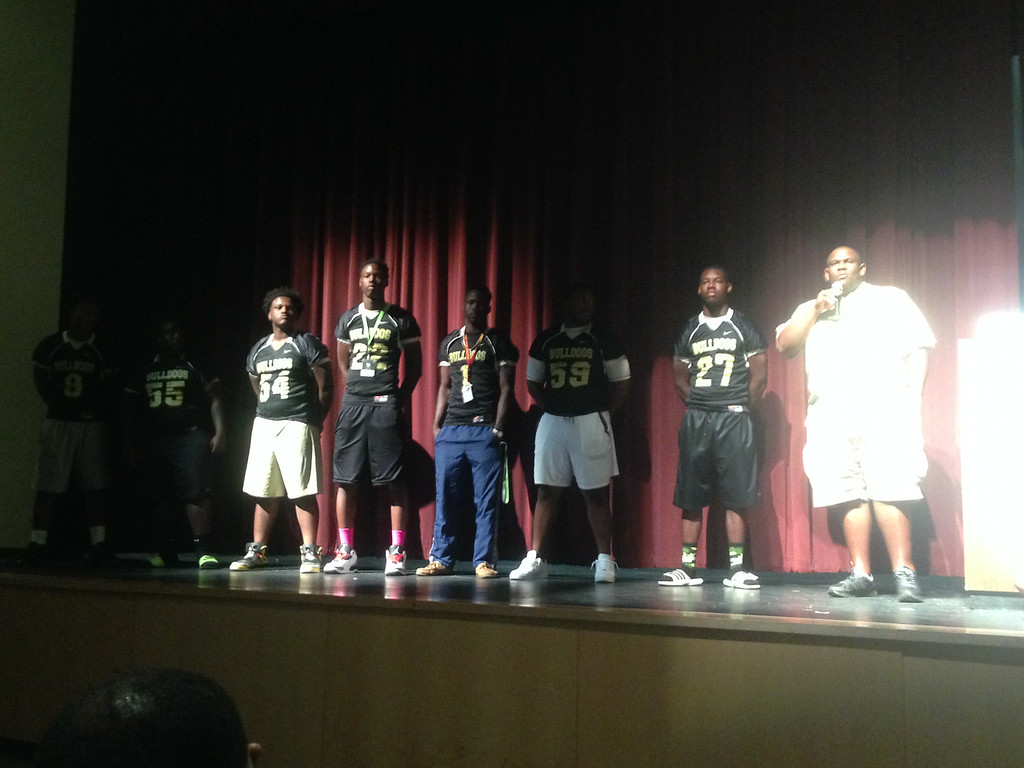 A Lithonia representative for Coach Jelks praised his players for competing on the field and on the classroom