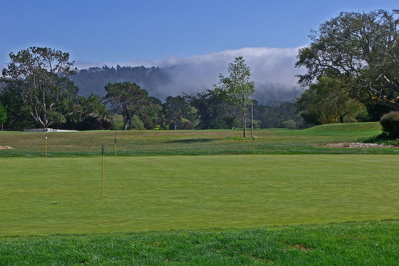 Del Monte putting green
