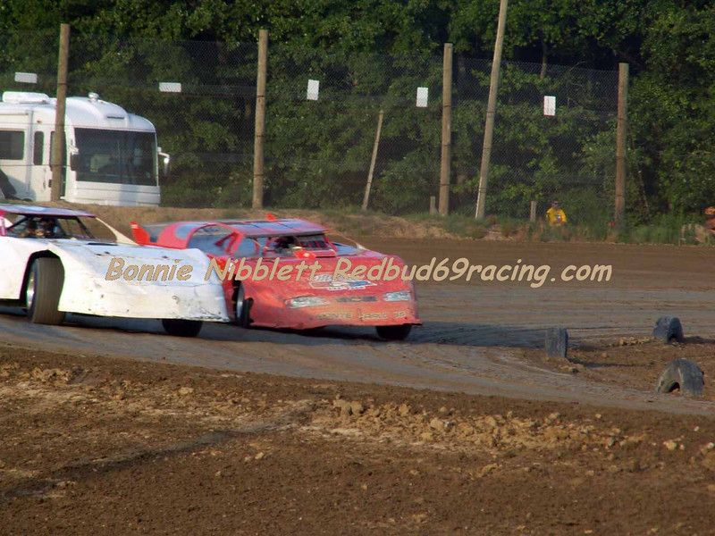 June 23, 2007 Delaware International Speedway Redbud's Pit Shots qualifying action TSS Late Model