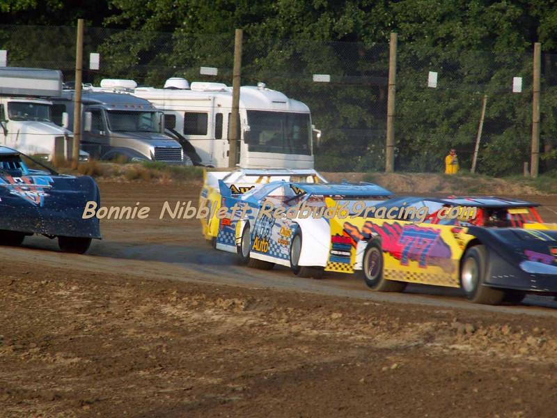 June 23, 2007 Delaware International Speedway Redbud's Pit Shots Late Model heat