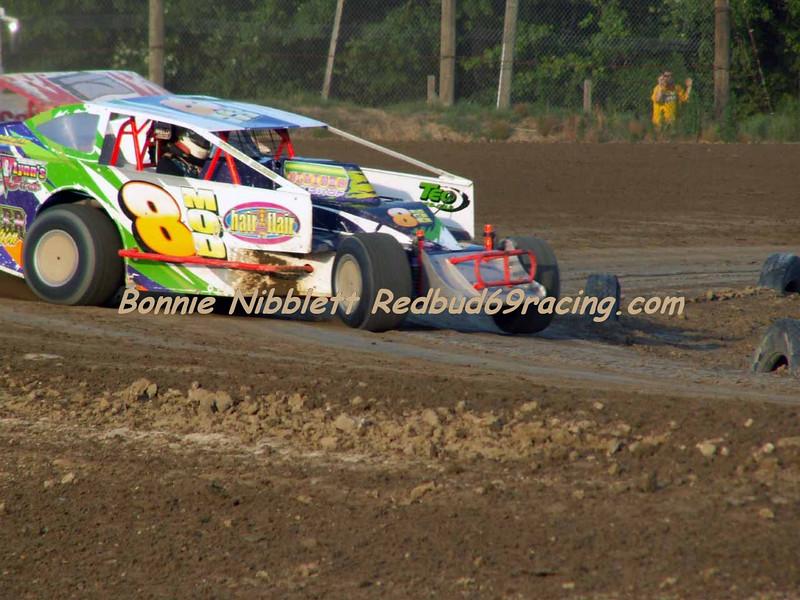 "June 23, 2007 Delaware International Speedway Redbud's Pit Shots  ""Stormin"" Norman Short, Jr. # 8M Big Block Mod"