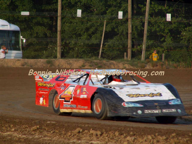 June 23, 2007 Delaware International Speedway Redbud's Pit Shots TSS Late Model Bobby Watkins # 4