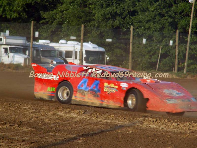 June 23, 2007 Delaware International Speedway Redbud's Pit Shots Tyler Reed # 44 TSS Late Model