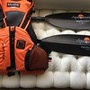 Aqua-Bound Carbon paddles and Salus PFD.