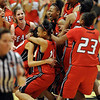 The Denver East Angels win the 5A State Championship over Legacy on Friday.<br /> <br /> Cliff Grassmick / March 12, 2010