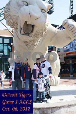 Detroit Tigers Oct 6, 2012