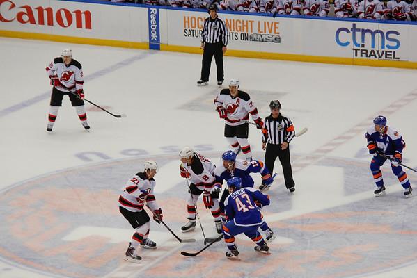 Devils at Islanders March 1 2014