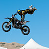 SALT LAKE CITY, UT - SEPTEMBER 20: Jim McNeil competes in the FMX Jam at the 2009 Dew Tour Toyota Challenge held in Salt Lake City, Utah on September 20, 2009.
