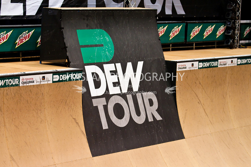 SALT LAKE CITY, UT - SEPTEMBER 17: The logo of the 2009 Dew Tour Toyota Challenge held in Salt Lake City, Utah on September 17-20, 2009.