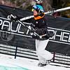 HUNTSVILLE, UT - JANUARY 15: Claudia Bovier of Vail, Colorado participates in the 2010 Winter Dew Tour Wendy's Invitational January 15, 2010 at the Snowbasin Resort in Huntsville, Utah.