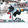 HUNTSVILLE, UT – JANUARY 15: Broc Waring of San Jose, California participates in the 2010 Winter Dew Tour Wendy's Invitational January 15, 2010 at the Snowbasin Resort in Huntsville, Utah.