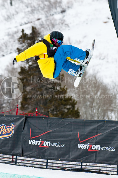 HUNTSVILLE, UT – JANUARY 15:  Roger Kleivdal of Geilo, Norway participates in the 2010 Winter Dew Tour Wendy's Invitational January 15, 2010 at the Snowbasin Resort in Huntsville, Utah.