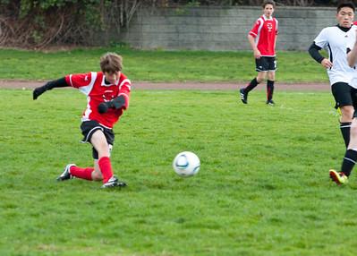 Dexter Soccer - October 2011