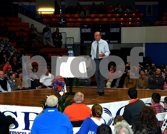 Dick Vitale Visits Marshall County, November 26, 2012