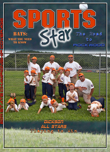 Sports Star Magazine, (lots of great articles)!