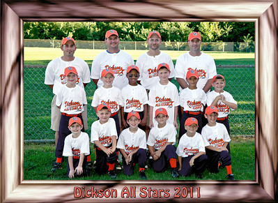 Dickson All Stars 1st team picture