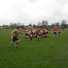 Tom kicks ahead for Sam to chase - again!