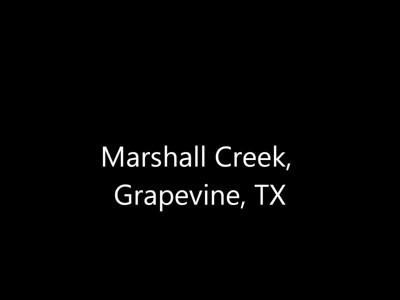 Dirt bike in the rain - Marshall Creek, Grapevine, TX