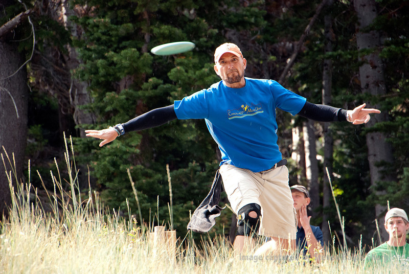 I volunteered to photograph the 2012 Monster Energy Challenge Disc Golf Tournament at Solitude Mountain Resort. I hung out at hole one and was able to get just about everyone as they teed off to start their round. Of all the shots I took this day, this one is my favorite. I just love the determined look on his face, as well as the fact that I got the disc just as it came out of his hand.