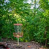 """Disc golf with Cory at Rosedale """"Down Under"""" disc golf course"""