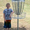 Kyson at Shawnee Mission Disc Golf Course