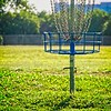 At the Rosedale disc golf course