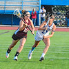 Groton-Dunstable completed the comeback in Saturday's Division 2 Central/West girls' lacrosse final win over Bromfield. Ellie Eisenklam scored the game-winner with 1:30 remaining in overtime to propel the Crusaders into Tuesday's state semifinal. Nashoba Valley Voice/Ed Niser