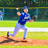Lunenburg starting pitcher Connor Palma delivers. Nashoba Valley Voice/Ed Niser