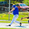 Dawson Stacy of Lunenburg connects during Thursday's win. Nashoba Valley Voice/Ed Niser