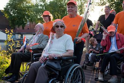 Intocht Avondvierdaagse Deventer 2010