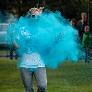 Kleurenrun Twello 2015 - Klompenfeest