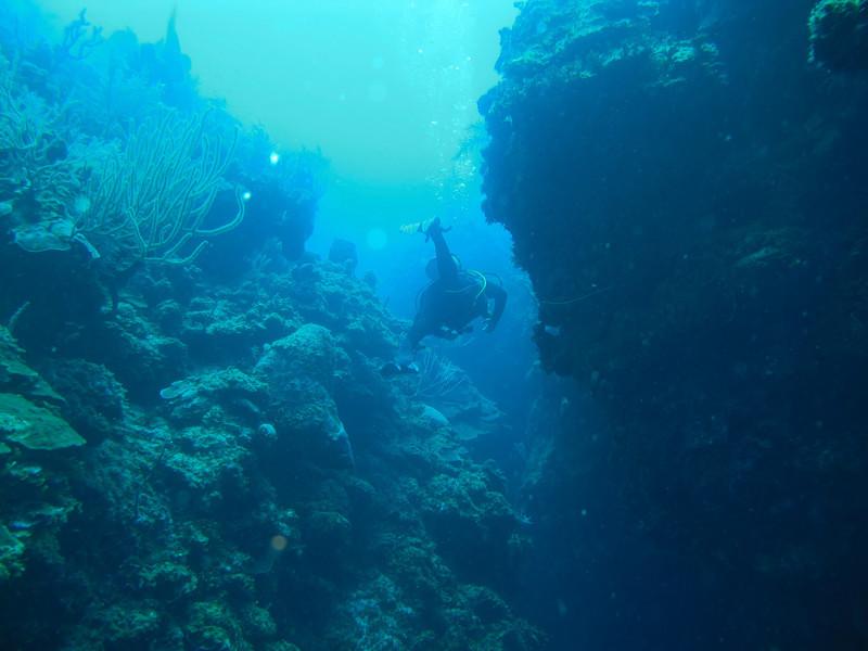 sweet crevasse dive