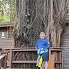 Carol and just a small first 20 feet of that Banyan tree