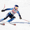 Record-Eagle/Brett A. Sommers Charlevoix's Abbey Scholten skis the giant slalom course during Monday's MHSAA Division 2 ski finals.