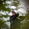 Record-Eagle/Jan-Michael Stump<br /> Harbor Springs' Tyler Parkin tees off.