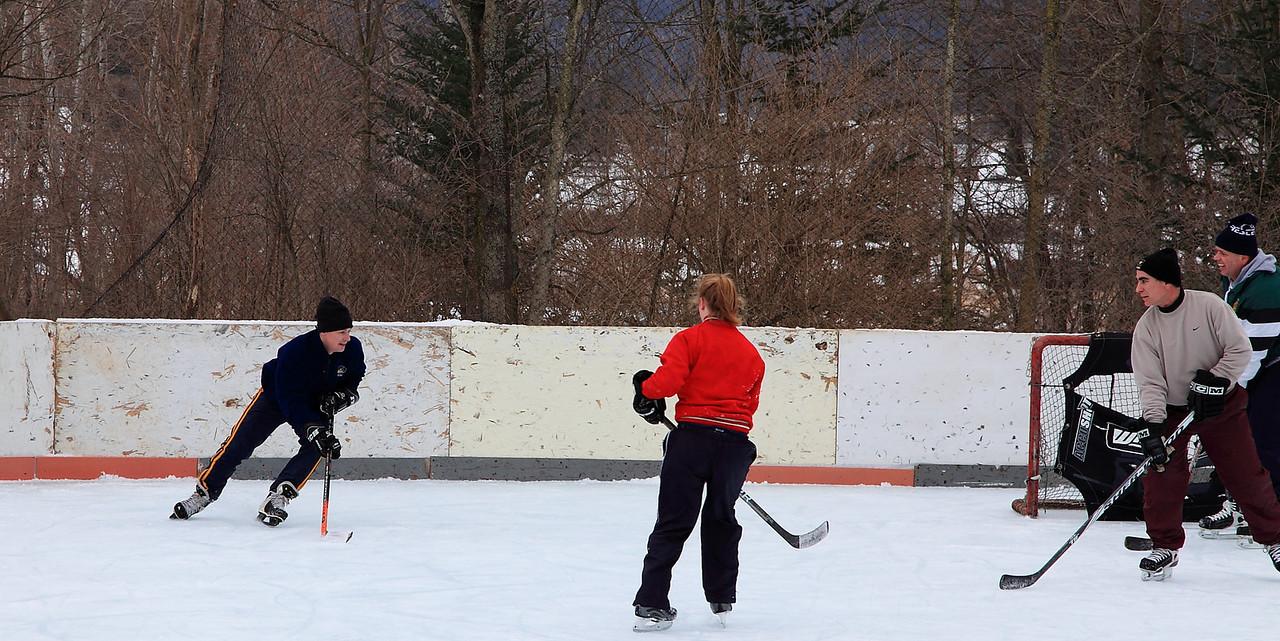 2 on 2 hockey
