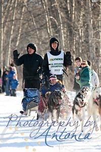 Jr. Iditarod Champion, Noah Pereira. Tudor Crossing - Anchorage, Alaska - March 2, 2013