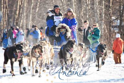4 Time Iditarod Champion, Martin Buser.  Tudor Crossing - Anchorage, Alaska - March 2, 2013