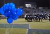 012 Homecoming Balloons at Mantanzas High School Football Game