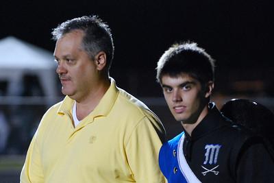 026 Homecoming Senior at Mantanza High School Football