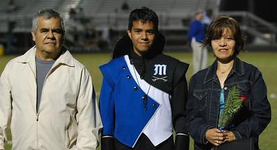 042 Homecoming Senior at Mantanza High School Football