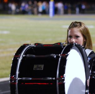 019 Mantanzas High School Marching Band at Homecoming