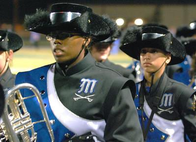 021 Mantanzas High School Marching Band at Homecoming