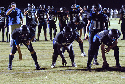 007 Mantanzas players at Homecoming game