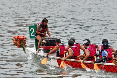 Dragon Boat At Singapore River - 29th July 2007