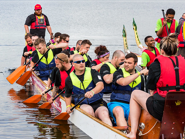 Dragon Boat Racing, Llys y Fran.