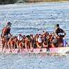 The Dragon Boat Club of Boston competing in it's 500m races at the 9th IDBF Dragon Boat Club Crews World Championships in Ravenna, Italy