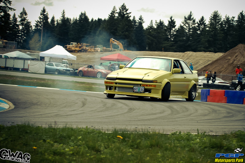 Pacific Grand Prix Summer Drifting Series - April 16th 2011